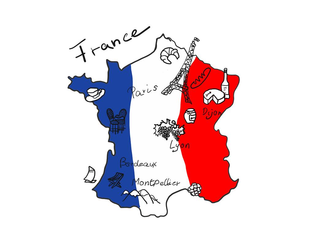 mein auf französisch